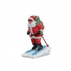 Santa Skier