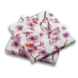 Manteles y servilletas papel navidad